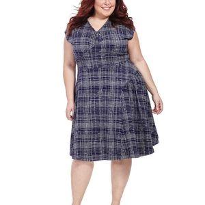 EFFIE'S HEART Nina Dress in Winter Plaid Knit